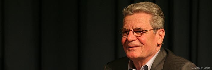 Joachim Gauck - S. Mähler 2010