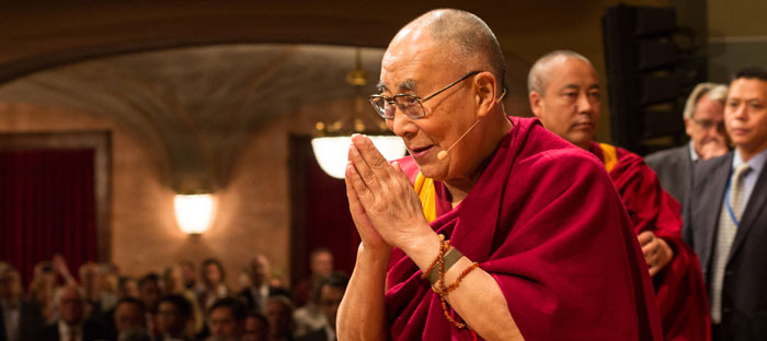 Dalai Lama - Deutsch-Amerikanisches Institut  Haus der Kultur